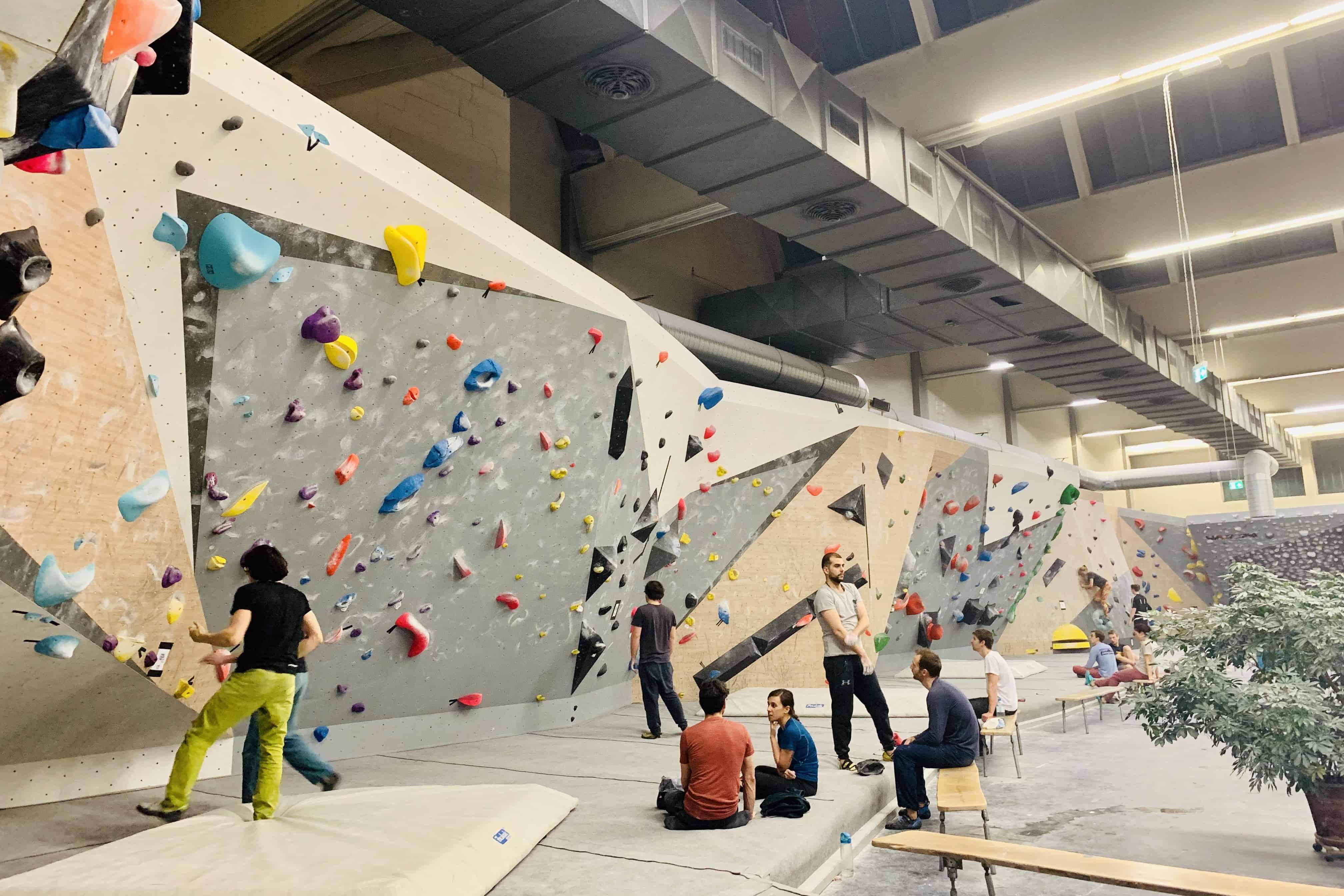 Bouldern in der Blockfabrik mit myClubs