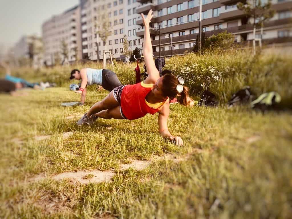 Bewegt im Park - Helmut Zilk Park