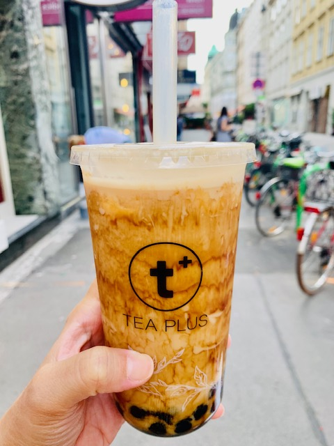 Black Milk Bubble Tea - Tea Plus