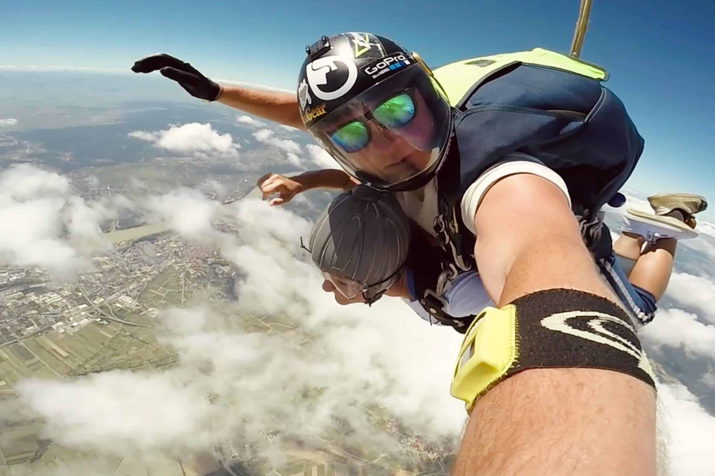 Tandemsprung aus 4000m Höhe bei Jump Club Krems